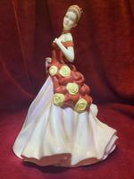 "Royal Doulton HN5465 titled ""Autumn Ball"" Figurine (2 of 9)"