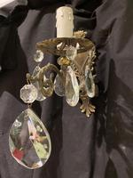 Pair of Small French Antique Wall Lights (2 of 7)