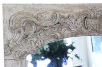 19th Century Large Quality Painted Chateau Overmantle / Wall Mirror (2 of 8)
