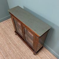 Quality Victorian Rosewood Antique Glazed Display Cabinet / Bookcase (5 of 9)