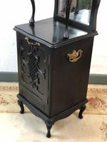 Antique French 7 Drawer Collectors Cabinet Jewellery Armoire Bijouterie (8 of 12)