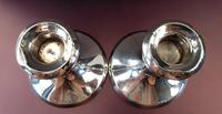 Sterling Silver Candlesticks - Pair (2 of 3)