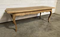 Bandy Leg French Bleached Oak Farmhouse Table (4 of 15)