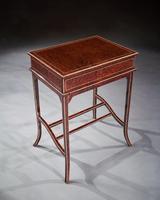 Unusual Early 20th Century French Thuya Wood Metamorphic Writing Table (5 of 13)