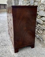 Small Antique Georgian Mahogany Chest of Drawers (4 of 16)