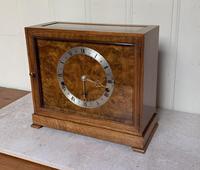 Walnut Chiming Elliott Mantel Clock (2 of 10)