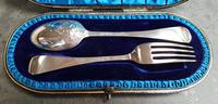 Cased Sterling Silver Christening Set - 1896 (3 of 5)