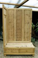 Quality! Large Old Pine Double 'Knock Down' Wardrobe - We Deliver! (13 of 17)