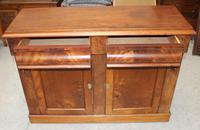 1900's Mahogany 2 Door Chiffoniere Base with Drawers (3 of 5)