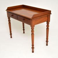 Antique Victorian Mahogany Writing  Table / Desk (3 of 9)