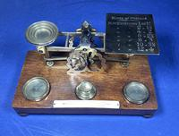 Victorian Mordan Letter Scales. (19 of 19)