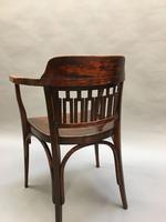Secession Desk Chair by Otto Wagner, stamped (5 of 11)
