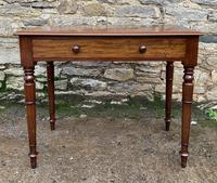 Antique Victorian Mahogany Side Table (17 of 17)
