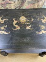 19th Century Three Tiered Lacquered Stand (4 of 6)
