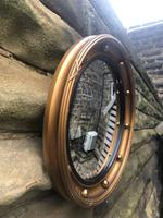 Antique Gilt Framed Convex Mirror (4 of 4)