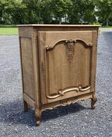 French Bleached Oak Side Cupboard (3 of 16)