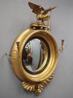 Large Regency Gilt Girandole Mirror (2 of 12)