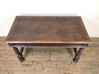Antique Carved Oak Table (2 of 10)