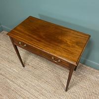 Fine Georgian Mahogany Antique Side Table (2 of 5)