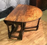 Georgian Oak Drop Leaf Table (7 of 11)