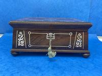 William IV Rosewood Box With Mother Of Pearl Inlay (5 of 14)