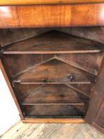 Victorian Mahogany Wall Hanging Corner Cupboard (6 of 6)