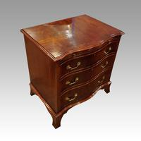 1930's Small Serpentine Chest (4 of 7)