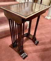 Lovely Edwardian Nest of Quartetto Tables (4 of 6)