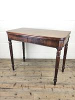 Antique 19th Century Mahogany Fold Over Side Table (13 of 14)