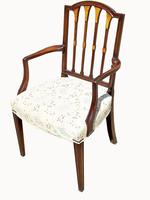 Set of Eight Fabulous Quality Edwardian Mahogany Dining Chairs (6 of 6)