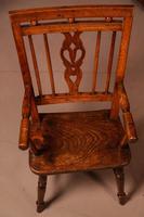 Rare Childs Mendlesham Chair in Yew Wood (2 of 8)