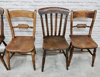 6 Windsor Kitchen Chairs, Assorted Styles (4 of 6)