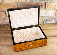 Figured Walnut Tunbridge Table Box 1880 (6 of 7)