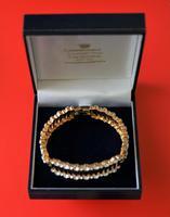 Vintage Designer 50s  Enamel Rhinestone Bracelet – Boxed Jewellery /  Present (5 of 9)