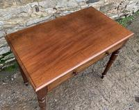 Antique Victorian Mahogany Side Table (5 of 17)