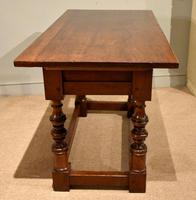 Early 18th Century Spanish Walnut Serving Side Table (5 of 7)