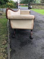 Regency Mahogany Sofa For Recovering (5 of 10)