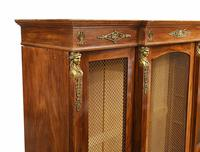 French Antique Bookcase Second Empire Bibliotheque Cabinet (17 of 20)