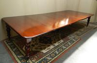 Large Mahogany Extending Dining Table (2 of 8)