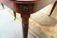 Large Regency Mahogany Concertina Action Dining Table (3 of 9)