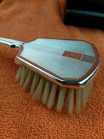 Silver Cased Art Deco French Brush c.1925 (4 of 9)