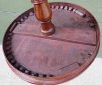 Early Victorian Round Mahogany Lamp Table (7 of 7)