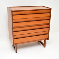 1960's Vintage Teak Chest of Drawers by William Lawrence (3 of 11)
