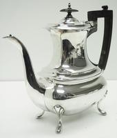 Impressive 5 Piece Silver Tea & Coffee Set Walker & Hall Sheffield 1917 (10 of 17)