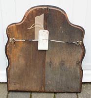 Georgian  Queen Anne Style Burr Walnut Wall Mirror (10 of 17)