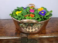 Two-Handled Copper Serving Pan c1890 (2 of 7)
