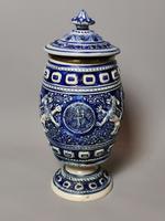 Antique Tobacco Jar, Westerwald, 19th Century (7 of 13)