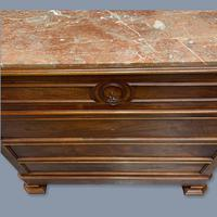 French Charles X Style Marble Top Commode (6 of 9)