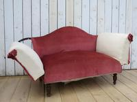Antique French Sofa Chaise Longue (3 of 9)