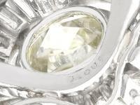 8.24ct Diamond & Platinum Ring by Boucheron - Vintage c.1950 (7 of 13)